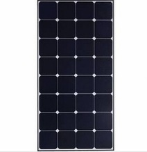 100W High efficiency sunpower solar panel low iron glass laminated solar photovoltaic panel