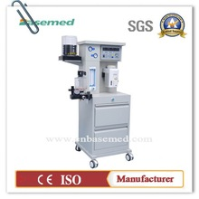 CE approved anesthesia equipment anesthesia machine BASETEC700 with anesthesia ventilator