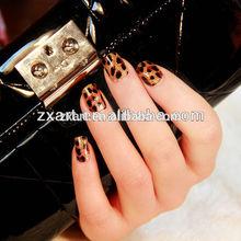 Fashion 3D Custom water transfer nail sticker