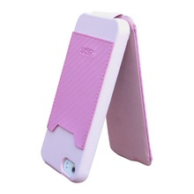 PU flip mobile phone cover for iphone 5 5S
