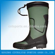 New development green rain boots rubber rain boots male