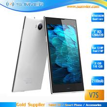 5.0 inch 1280x720 Corning Gorrila Glass MTK6582M Quad Core 2G/16G Android OEM Smartphone