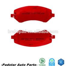 auto parts brake pad kit disc brake dodge ram 1500 front disc brake pad d1334