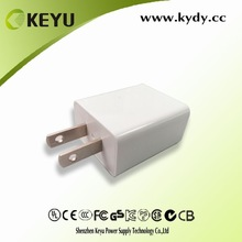 ul listed charger 5v 1500ma cellphone use ac adaptor