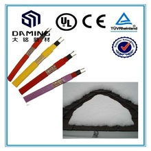 flexible heating copper cables for roof melting snow
