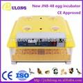 Baratos produtos de importação automática cheia jn8-48 temperatura chocar ovos