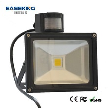 Advanced skill 50w led floodlight with pir motion sensor and ip65