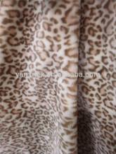 Soft Warm animal printed mink blanket 60''*89''