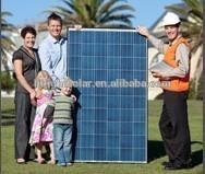 energia solar fotovoltaica 250w poly panel solar with TUV