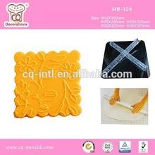 Textured Rolling Pins Imprint Cake Decorating Dough Gum Paste Brand