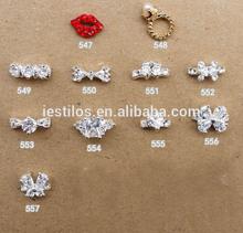 Fashion hot sale 3d crystal nail art supplies