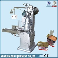 Luncheon meat can automatic vacuum seamer