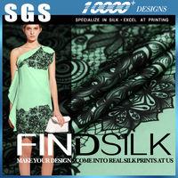 Hellosilk factory direct sale personal commercial brocade silk fabrics bangalore