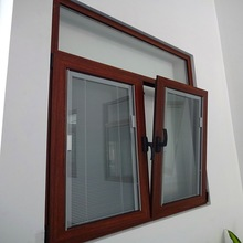 Aluminium tilt and turn windows with built in blinds
