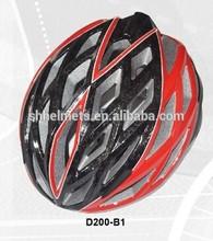 LED light kid bicycle helmet D-200 new graphics 2015