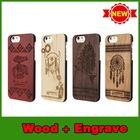 """Hot selling rosewood color printing hard case cover for iphone 6 4.7"""""""