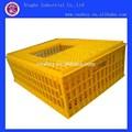 De plástico de pollo jaula/jaula de codorniz para transporte