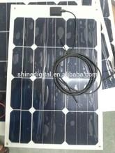 25W high efficiency light weight solar panel