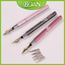 2015 BQAN New Design Metal Handle Nail Art Dotting Pen