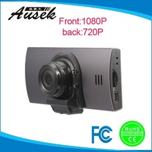 hd 1080p manual dual camera car dvr car blackbox camera dvr gps