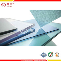 polycarbonate 100% virgin sabic lexan plastic material solid sheet hollow pc for roofing greenhouse car shed canopy