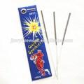 De alta calidad 7 pulgadas sparkler eléctrico para la venta, handhold 7 sparkler pulgadas, venta al por mayor de la boda sparkler fuegos artificiales