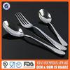 High quality cutlery spoon fork knife set bone handle cutlery