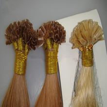 Alibaba express keratin hair cheap and high quality 100 human hair nail tip hair extention