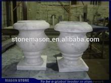 Cementerio florero para tumba de piedra / lápida