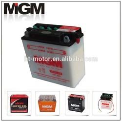 Motorcycle Battery 12N5-3B,motorcycle parts dry batteries