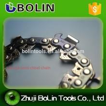 3/8 cadena de la sierra/cadena de la sierra de repuesto parte/semi cincel motosierra/sierra cadena de la cadena