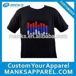 custom led t shirt wholesale price