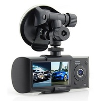 Dual Camera Car Recorder with G-Sensor GPS car dvr