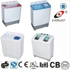 CE CB SASO CCC ISO9001 twin tub washing machine