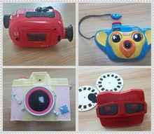 film toys/ film projector/film camera/toy viewer, new funny 3D view masters