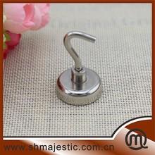 Professional round base magnet neodymium pot magnet Wall mount magnet