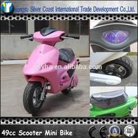 49cc Red Color Mini Scooter for Kids 49CC Mini Pocket Bike