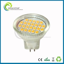Standard mr11 glass body ip44 ra 80 led spotlight dimmable led spot 5w mr11,dimmable
