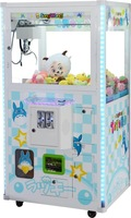 USA hot sale quality arcade coin operated mini plush toy claw crane machine