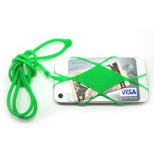 Novelty custome logo printed oem cell phone accessory mobile phone strap hang around neck