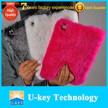 Luxury Warm Fur Cases for ipad
