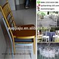 2014 venta caliente de oro tiffany silla de la boda en foshan