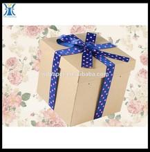luxury metallic paper card box