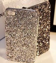 2015 wholesale Fashion Luxury design Bling Bling crystal mobile rhinestone phone case for iphone6