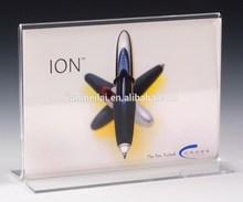 top popular acrylic advertising sign holder display