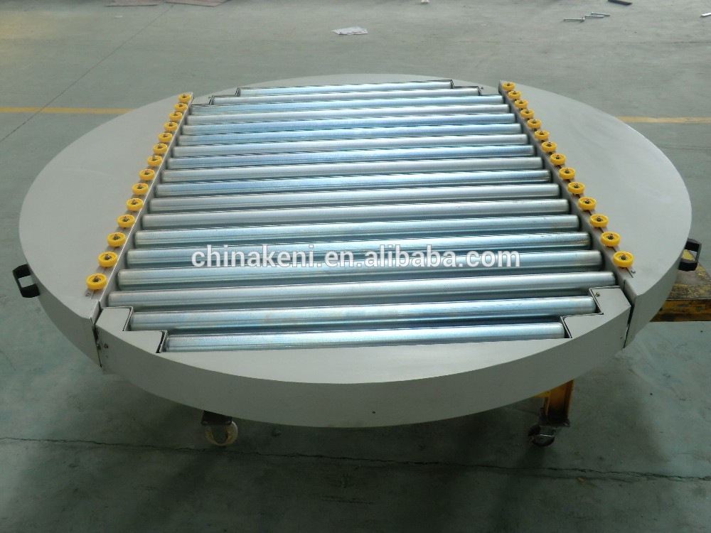Product Rotation Conveyor Roller Conveyor Rotating