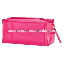 Beach pool pvc/eva cosmetic makeup bag with zipper