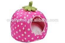 strawberr handmade dog bed