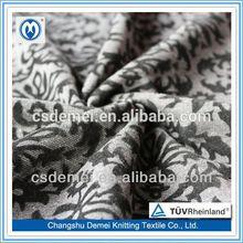 2013 fashion rib roman flocked fabric knitted for women's garment