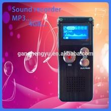 Hot sale exquisite sd card alarm clock voice recorder